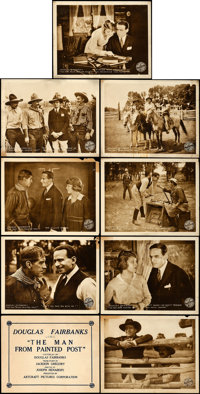 """The Man from Painted Post (Artcraft, 1917). Lobby Card Set of 9 (11"""" X 14""""). ... (Total: 9 Items)"""