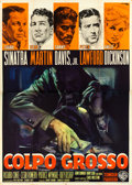 "Movie Posters:Crime, Ocean's 11 (Warner Brothers, 1960). Italian 4 - Fogli (55"" X 78"")Averardo Ciriello Artwork.. ..."