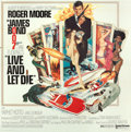 "Movie Posters:James Bond, Live and Let Die (United Artists, 1973). International Six Sheet(77"" X 78"").. ..."