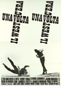 "Movie Posters:Western, Once Upon a Time in the West (Paramount, 1969). Italian 2 - Fogli(39"" X 55"") and Italian 4-Fogli (55"" X 79"").. ... (Total: 2 Items)"