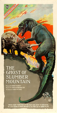 "The Ghost of Slumber Mountain (World Pictures, 1918). Three Sheet (41"" X 81"")"