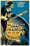 "Movie Posters:Science Fiction, The Man from Planet X (United Artists, 1951). Poster (40"" X 60"").. ..."