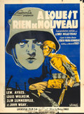 "Movie Posters:Academy Award Winners, All Quiet on the Western Front (Universal, 1930). French Grande(47"" X 63"") Advance Style. Joseph Koutachy Artwork.. ..."