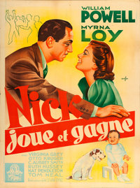"""Another Thin Man (MGM, 1939). French Grande (47"""" X 63"""")"""