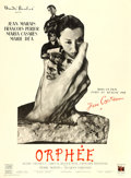 "Movie Posters:Drama, Orphée (DisCina, 1950). French Grande (47"" X 63"") Style B.. ..."