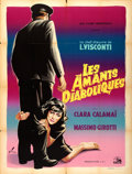 "Movie Posters:Foreign, Ossessione (Marceau, Late 1940s). First Post-War Release French Grande (47"" X 63""). Foreign.. ..."