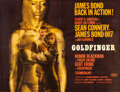 "Movie Posters:James Bond, Goldfinger (United Artists, 1964). British Quad (30"" X 40"") StyleA.. ..."