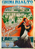 "Movie Posters:Musical, The Gay Divorcee (RKO, 1934). Pre-War Belgian (24"" X 33"").. ..."