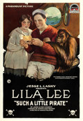 "Movie Posters:Adventure, Such a Little Pirate (Paramount, 1918). One Sheet (28.5"" X 41"").. ..."