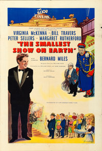 "The Smallest Show on Earth (Lion International, 1957). British One Sheet (27"" X 40"")"