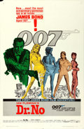 "Movie Posters:James Bond, Dr. No (United Artists, 1962). One Sheet (27"" X 41"") White SmokeStyle.. ..."