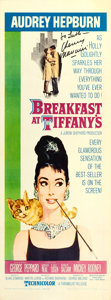 "Movie Posters:Romance, Breakfast at Tiffany's (Paramount, 1961). Henry Mancini AutographedInsert (14"" X 36"").. ..."