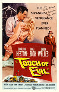 "Movie Posters:Film Noir, Touch of Evil (Universal International, 1958). Orson WellesAutographed One Sheet (27"" X 41"").. ..."