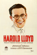 "Movie Posters:Comedy, Harold Lloyd (Paramount, 1920s). Stock One Sheet (27"" X 41"").. ..."