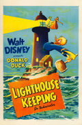 "Movie Posters:Animation, Donald Duck in Lighthouse Keeping (RKO, 1946). One Sheet (27"" X41"").. ..."