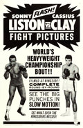 "Movie Posters:Sports, Liston vs. Clay (20th Century Fox, 1964). One Sheet (27"" X 41"")....."