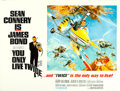 """Movie Posters:James Bond, You Only Live Twice (United Artists, 1967). British Quad (30"""" X 40"""") Style B.. ..."""