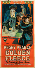 "Movie Posters:Drama, Golden Fleece (Triangle, 1918). Three Sheet (41"" X 81"").. ..."