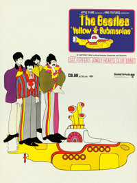 """Yellow Submarine (United Artists, 1968). Special Advance Poster (34"""" X 45.5"""")"""