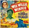 "Movie Posters:Adventure, Wee Willie Winkie (20th Century Fox, 1937). Six Sheet (79"" X 80"")....."