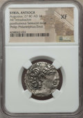 Ancients:Roman Provincial , Ancients: SYRIA. Antioch. Autonomous (47/6-14/3 BC). AR tetradrachm(no wt. given)....