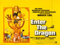 "Movie Posters:Action, Enter the Dragon (Warner Brothers, 1973). British Quad (30"" X40"").. ..."