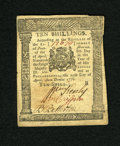 Colonial Notes:Pennsylvania, Pennsylvania April 25, 1776 10s About New. A very attractive notewith far superior margins than what is normally seen. The...