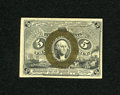 Fractional Currency:Second Issue, Fr. 1234 5c Second Issue Very Choice New. A very high grade example of this very scarce number which is rarely encountered i...