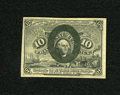 Fractional Currency:Second Issue, Fr. 1244 10c Second Issue Choice New. A very broadly margined example of this second issue type that has crisp paper and goo...