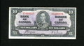 Canadian Currency: , BC-24c $10 1937. This $10 is an attractive mid-grade note. VeryFine....