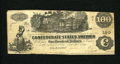 Confederate Notes:1862 Issues, T39 $100 1862. A few edge nicks are noticed. Fine-Very Fine....