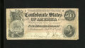 Confederate Notes:1864 Issues, T64 $500 1864. The extreme lower right-hand corner tip is missing, plus there are over a handful of edge tears, with the lon...