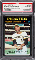Baseball Cards:Singles (1970-Now), 1971 Topps Roberto Clemente #630 PSA Gem Mint 10....