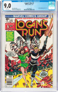 Bronze Age (1970-1979):Science Fiction, Logan's Run #1 (Marvel, 1977) CGC VF/NM 9.0 White pages....