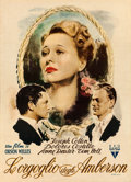 "Movie Posters:Drama, The Magnificent Ambersons (RKO, Late 1940s). First Post-War ReleaseItalian 2 - Fogli (39.5"" X 54.5"").. ..."