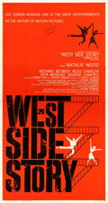 "Movie Posters:Academy Award Winners, West Side Story (United Artists, 1961). Robert Wise AutographedThree Sheet (41.5"" X 79"").. ..."