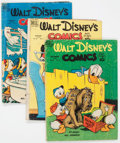 Golden Age (1938-1955):Cartoon Character, Walt Disney's Comics and Stories Group of 19 (Dell, 1949-51)Condition: Average GD/VG.... (Total: 19 Comic Books)