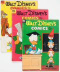 Golden Age (1938-1955):Cartoon Character, Walt Disney's Comics and Stories #150-169 Group (Dell, 1953-54)....(Total: 20 Comic Books)