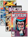 Modern Age (1980-Present):Miscellaneous, Marvel Modern Age Comics Group of 9 (Marvel, 1980s) Condition: Average VF.... (Total: 9 Comic Books)