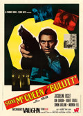 "Movie Posters:Crime, Bullitt (Warner Brothers, 1969). Italian 2 - Fogli (39"" X 55"")....."
