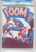 Magazines:Fanzine, Foom #8 (Marvel, 1974) CGC NM+ 9.6 White pages....