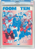 Magazines:Fanzine, Foom #10 (Marvel, 1975) CGC NM 9.4 White pages....