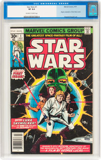 Star Wars #1 (Marvel, 1977) CGC VF 8.0 Off-white to white pages