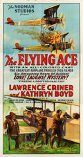 "Movie Posters:Black Films, The Flying Ace (Norman, 1926). Three Sheet (41"" X 79"").. ..."