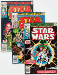 Bronze Age (1970-1979):Science Fiction, Star Wars Group of 4 (Marvel, 1977).... (Total: 4 Comic Books)