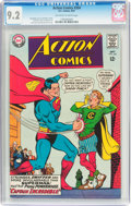 Silver Age (1956-1969):Superhero, Action Comics #354 (DC, 1967) CGC NM- 9.2 Off-white to white pages....
