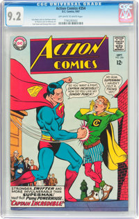 Action Comics #354 (DC, 1967) CGC NM- 9.2 Off-white to white pages