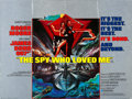 "Movie Posters:James Bond, The Spy Who Loved Me (United Artists, 1977). British Quad (30"" X40""). James Bond.. ..."