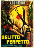 "Movie Posters:Hitchcock, Dial M for Murder (FilmItalia, R-1960s). Italian 2 - Fogli (39.5"" X55"").. ..."