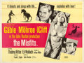 "Movie Posters:Drama, The Misfits (United Artists, 1961). British Quad (30"" X 40"").Drama.. ..."